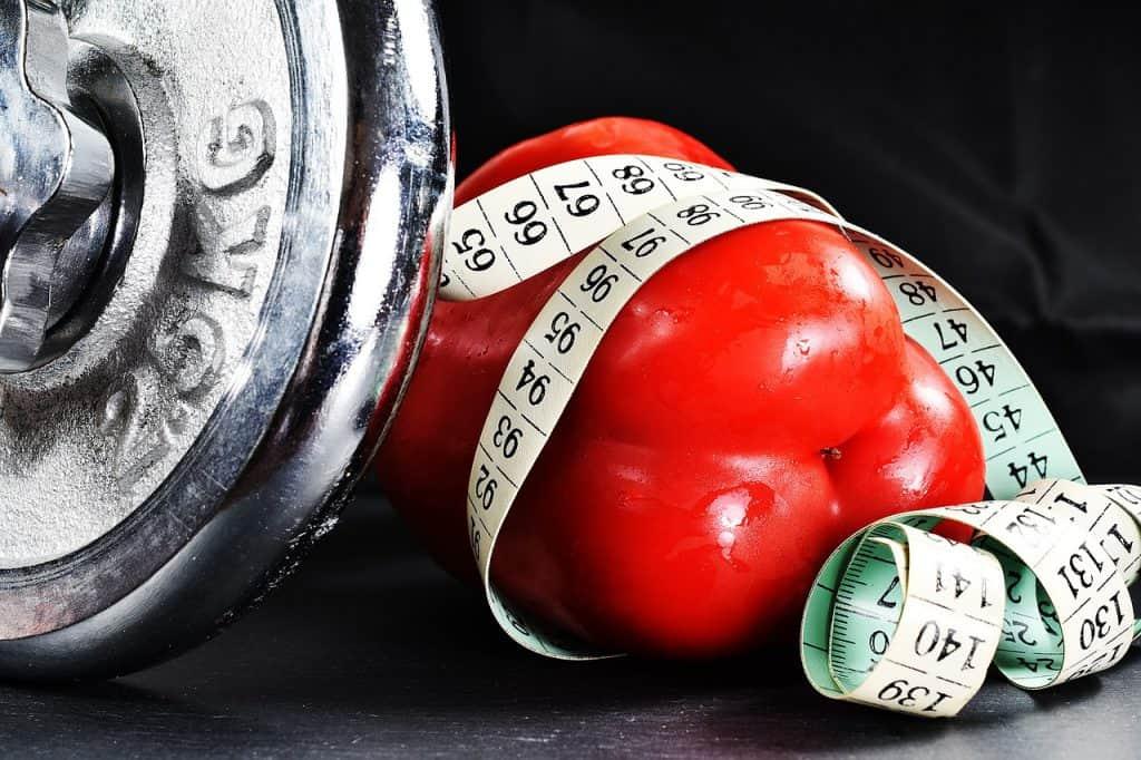 barbela, alimentação saudável, medição por