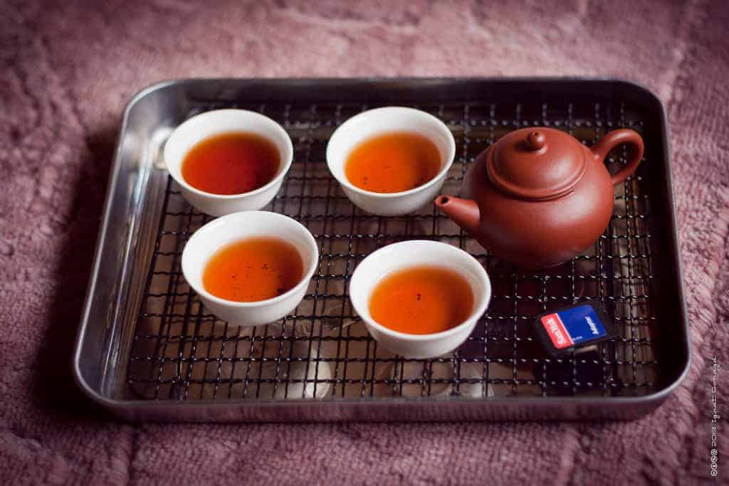 Chá vermelho