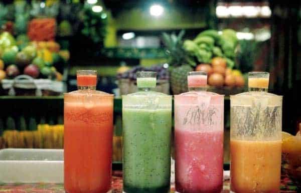 Batidos de frutas - emagrecimento