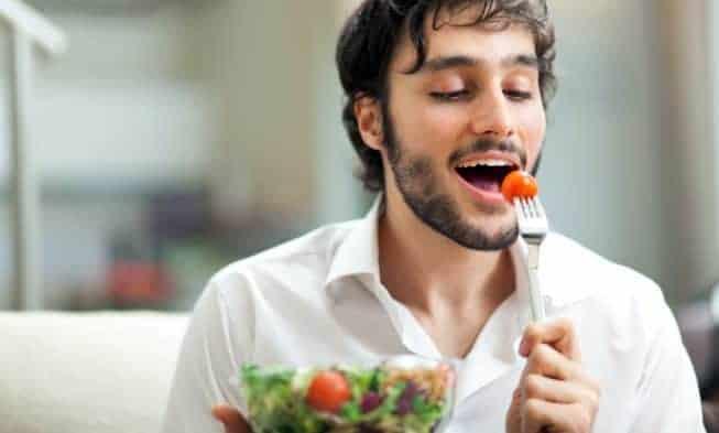 A dieta do homem