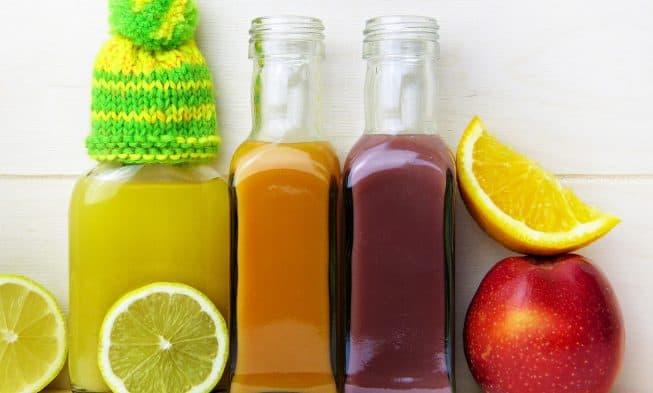 sucos de frutas para resistência