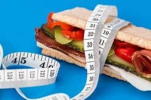 valor calorífico da refeição