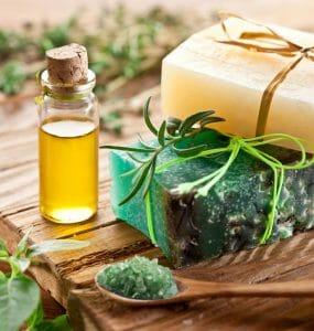 óleo e sabão