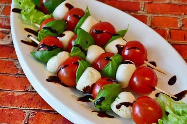 mozzarella de tomate
