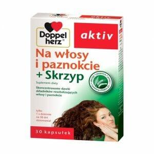 Doppelherz Activ no cabelo e unhas + cavalinha + rabo de cavalo