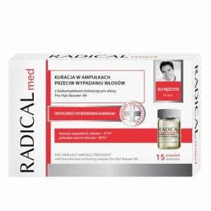 Radical Med ampolas anti-queda do cabelo para homens