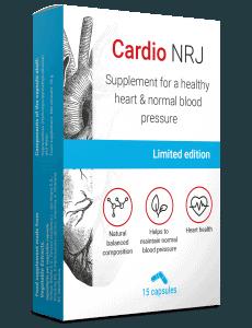 Cardio NRJ, suplemento de hipertensão arterial