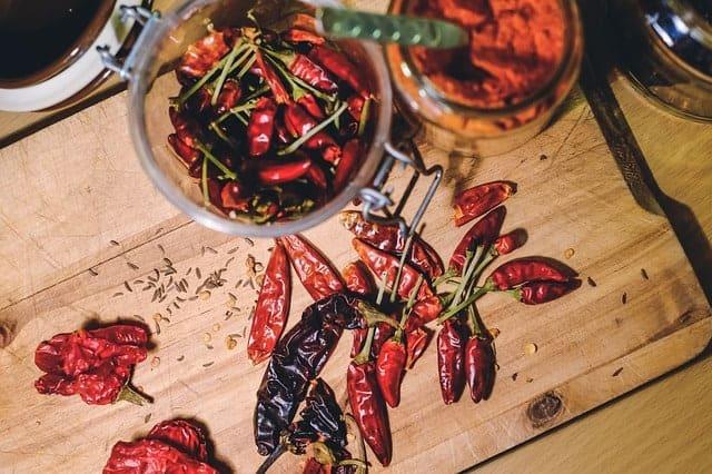 termogénicos, pimenta malagueta