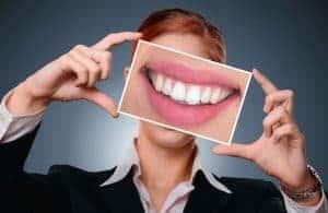 belo sorriso branco
