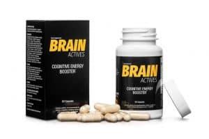 Suplemento dietético para apoiar o cérebro Brain Actives