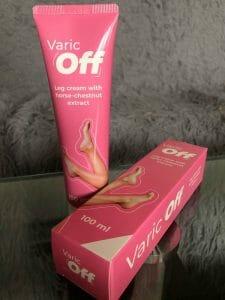 VaricOff creme para pernas pesadas e cansadas