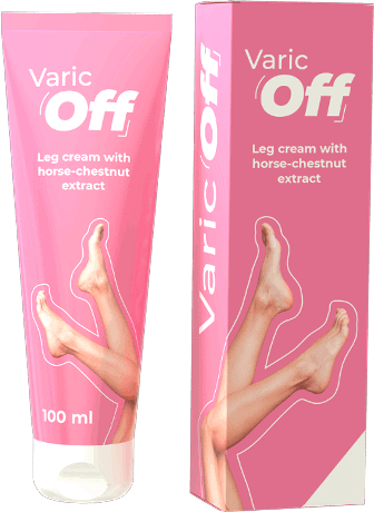 Creme Varicoff para pernas pesadas e cansadas