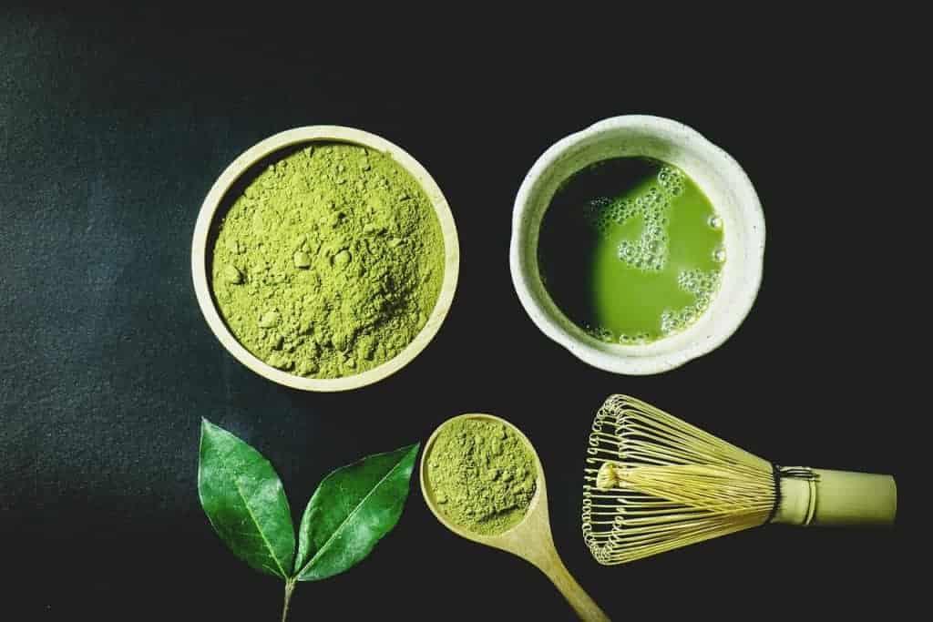 chá verde mate